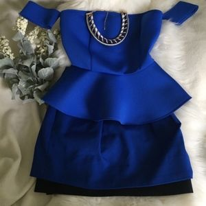 Vince Camuto Blue Skirt Size: 8